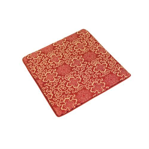 富麗記憶型坐墊(一人) 紅(50x50x3cm)