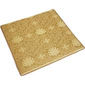 富麗記憶型坐墊(一人) 金(50x50x3cm)