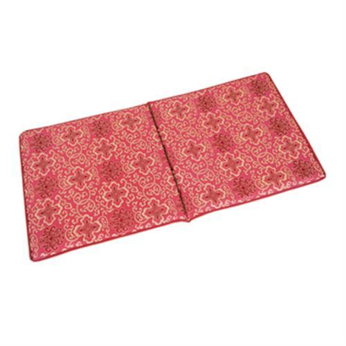 富麗記憶型坐墊(二人) 紅(50x100x3cm)