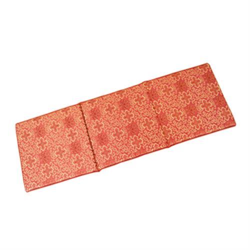 富麗記憶型坐墊(三人) 紅(50x150x3cm)