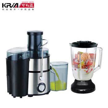 KRIA可利亞 超活氧二合一蔬果調理機/榨汁機/食物調理器/果汁機/攪拌機GS-312