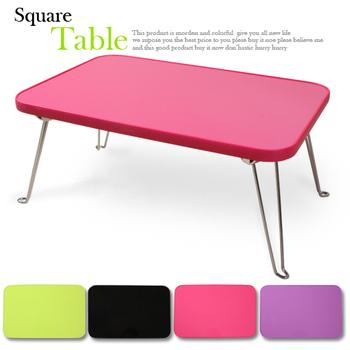 RICHOME 藤原筆記型和室桌-2入(粉紅)