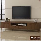 《日本直人木業》wood北歐生活210CM電視櫃