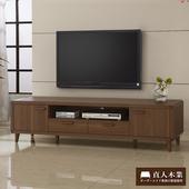 《日本直人木業》wood北歐生活180CM電視櫃