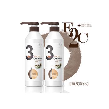 E2C 啡洗不可 辣木子3號淨化頭皮洗髮精2入(600ml)