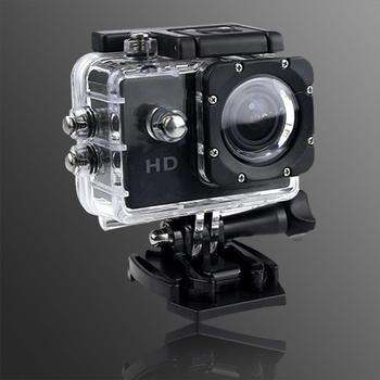 長江 Gmate HD1 廣角微型運動防水型攝影機 (可當行車記錄器)(尊爵黑)
