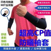 《Meiyante》抗UV手腕型防曬袖套(經典黑)