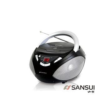 SANSUI 山水 耳福能享★CD/AUX/FM手提式音響(SB-80N)