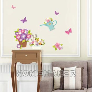 五彩蔥半手工壁飾貼-園藝_LK-HPA2217(42cm*30cm)