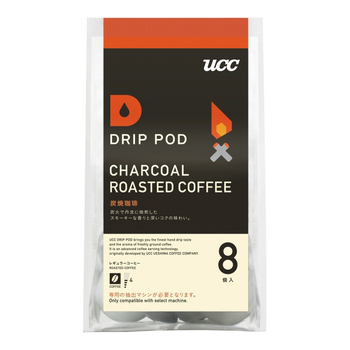 UCC DRIP-POD 咖啡萃取膠囊口味系列(DRIP-POD 炭燒咖啡7.5g*8p*6袋/箱)