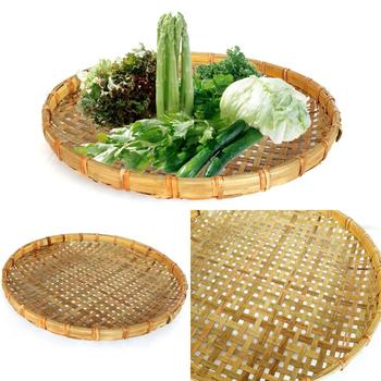 DecoBox 厚竹篩(直徑60公分-1個) (豆腐篩, 豆干篩.土豆篩, 食物蒸盤,蒸籠)