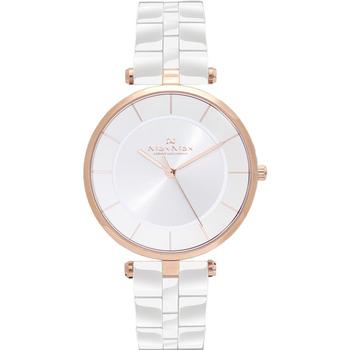 Max Max 典雅知性 簡約時尚陶瓷腕錶-40mm/白(MAS5132-2)