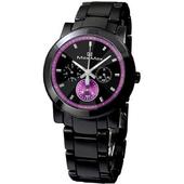 《Max Max》璀璨獨特三眼全日曆陶瓷腕錶MAS50803J-B1-IP黑X紫/38mm