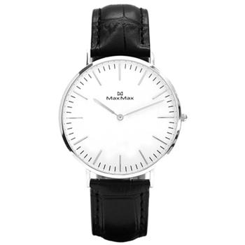 Max Max 簡約美學腕錶-黑X大錶徑(MAS7011-1/40mm)