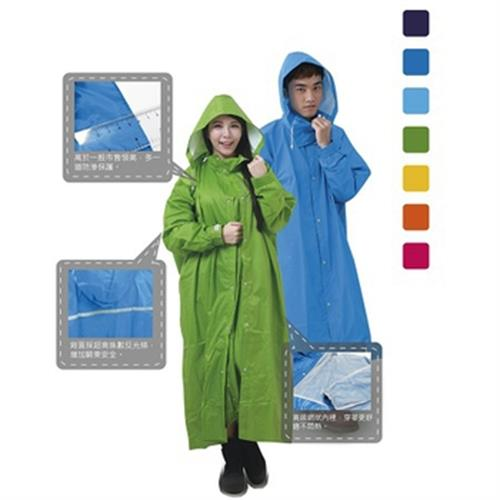 RT全開式風雨衣 綠色#2XL
