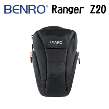 BENRO 百諾 Ranger Z20 遊俠槍型背包 三角包 腰包 (勝興公司貨)(黑色)
