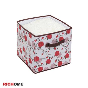 ★結帳現折★RICHOME 凡爾賽收納盒(玫瑰花紋)