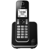 《Panasonic 國際牌》DECT 數位無線話機 KX-TGD310TW(黑色)