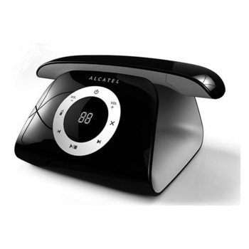 《ALCATEL 阿爾卡特》數位式無線話機 Connect (二色)(黑色)