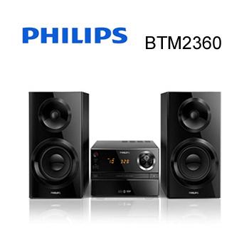 PHILIPS 飛利浦 都會時尚微型音響 BTM3360