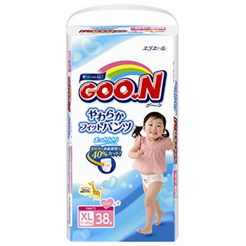 大王 大王紙尿褲褲型女XL-日本境內版(38片)
