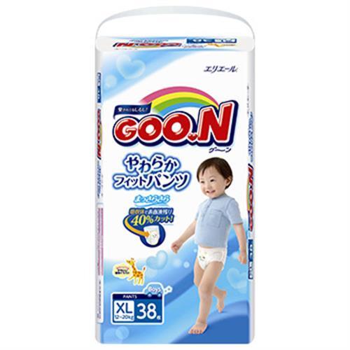 大王 紙尿褲褲型男XL-日本境內版(38片)