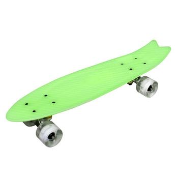 TECHONE S9 23吋夜光交通板 / 滑板 / 小魚板 (多色可選)(綠)