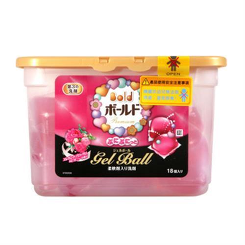 日本P&G 香氛柔軟洗衣球(18顆入)