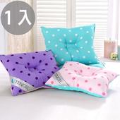 《三浦太郎》頂級天絲雙色點點兒童人體工學保護枕/1入/3色(淺藍+粉紅)