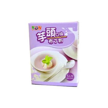 FUN 布丁粉/果凍粉(芋頭口味)