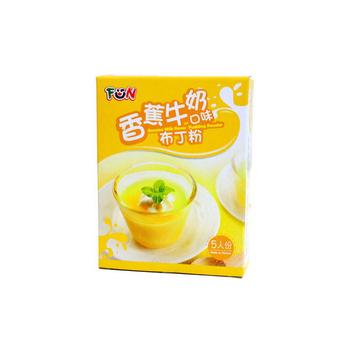 FUN 布丁粉/果凍粉(香蕉牛奶口味)