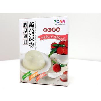 FUNN 膠原蛋白蒟蒻凍粉(荔枝口味)