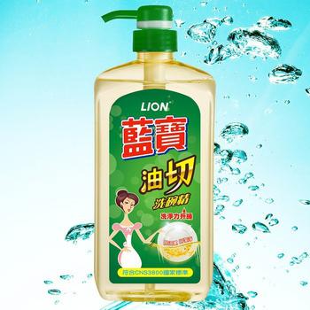 ★結帳現折★LION藍寶 油切洗碗精-壓頭(1000ml)