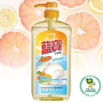 ★結帳現折★LION藍寶 洗碗精柑橙香-壓頭(1000ml)
