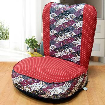 KOTAS 妮特日式休閒和室椅(紅)