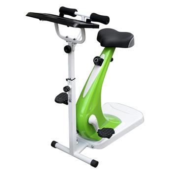 《BIKEONE》FIT-23 五段磁控動感企鵝車 健身車(白綠)