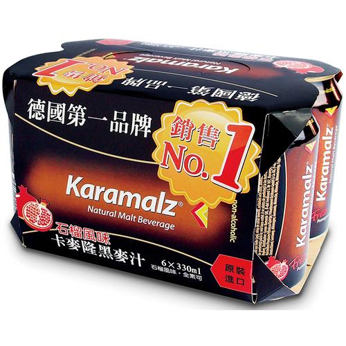卡麥隆 黑麥汁石榴風味(330ml*6罐/組)