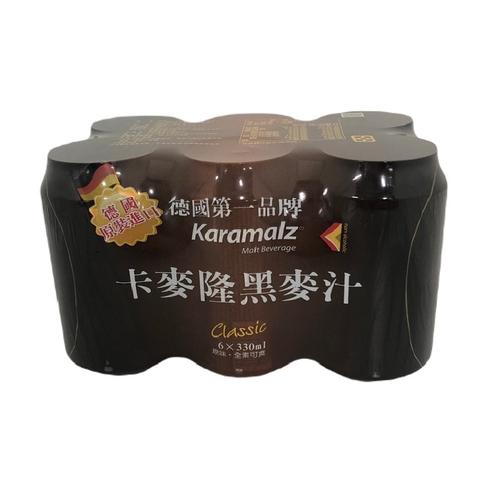 卡麥隆 黑麥汁原味(330ml*6罐/組)