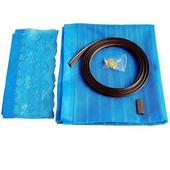 《月陽》加強型雙磁條磁性吸附防蚊軟紗門簾(D705)