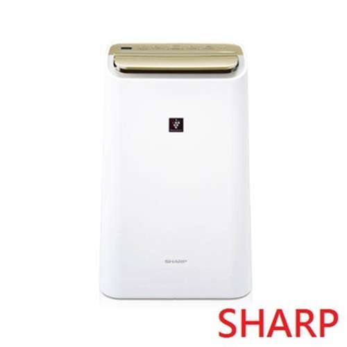 SHARP 夏普 10L HEPA除菌除濕機 DW-E10FT-W