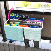 《Conalife》可摺疊簡便型多功能曬衣架