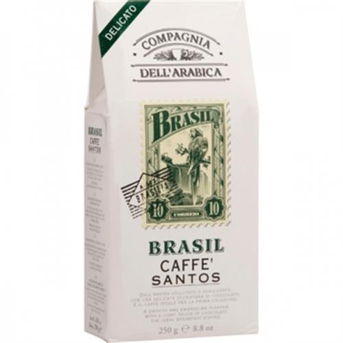 義大利Arabica 研磨咖啡粉-巴西(250 公克/包)