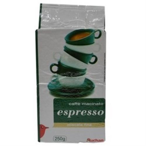 Auchan 義式ESPRESSO咖啡粉(250g/包)