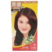 《美吾髮》黑娜護髮染髮霜-6號自然褐(40g+40g/盒)