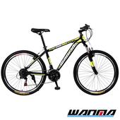 《WANMA》WM-1 26吋 日本SHIMANO 21速 登山車-服務升級版(黑黃)