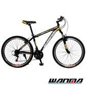 《WANMA》【預購-1115出貨】WM-1 26吋 日本SHIMANO 21速 登山車-DIY版(黑棕)