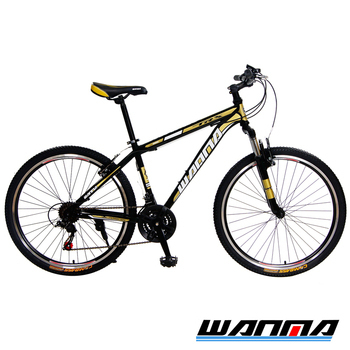 《WANMA》WM-1 26吋 日本SHIMANO 21速 登山車-DIY版(黑棕)