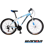 《WANMA》【預購-1115出貨】WM-1 26吋 日本SHIMANO 21速 登山車-DIY版(白藍)