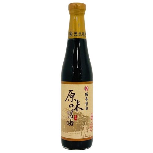 《瑞春》原味醬油(420ml/罐)