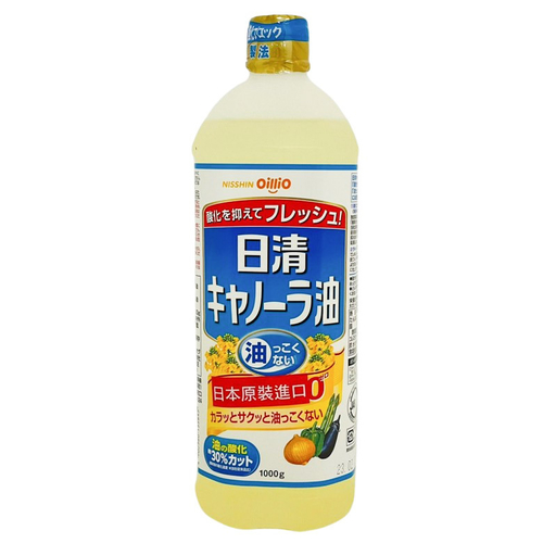 日清 菜籽油(1000g/瓶)